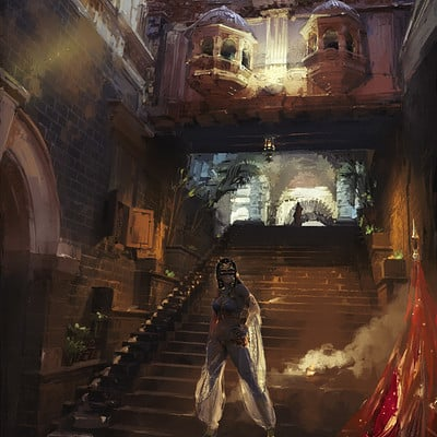 Sergey musin down the stairs