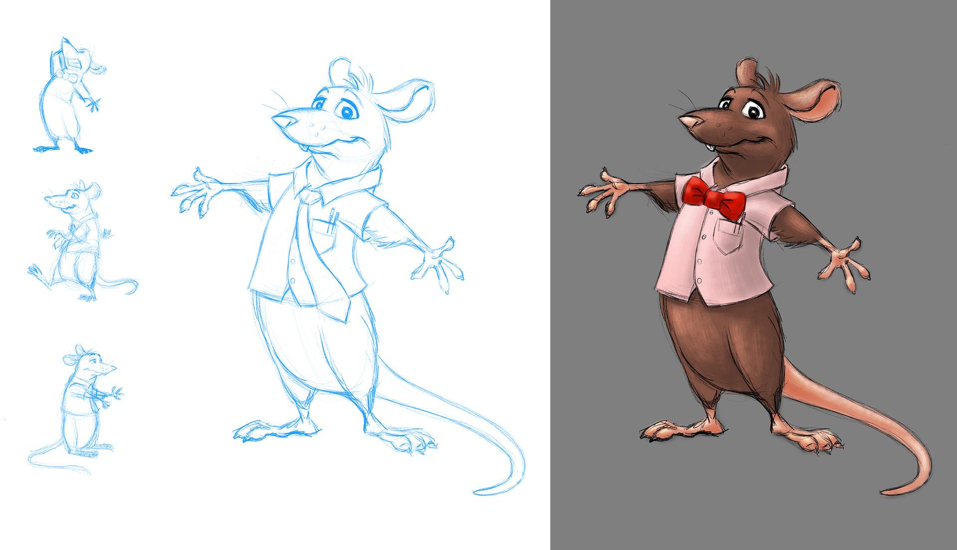 Jeremy - Character Sketch