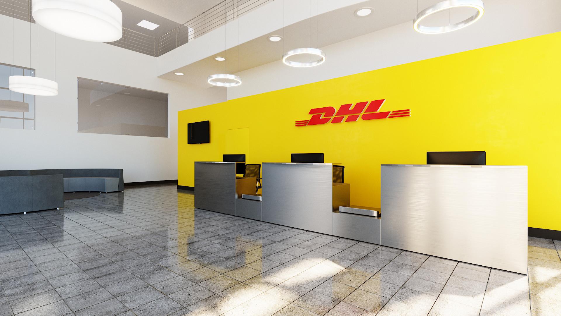 DHL lobby reception