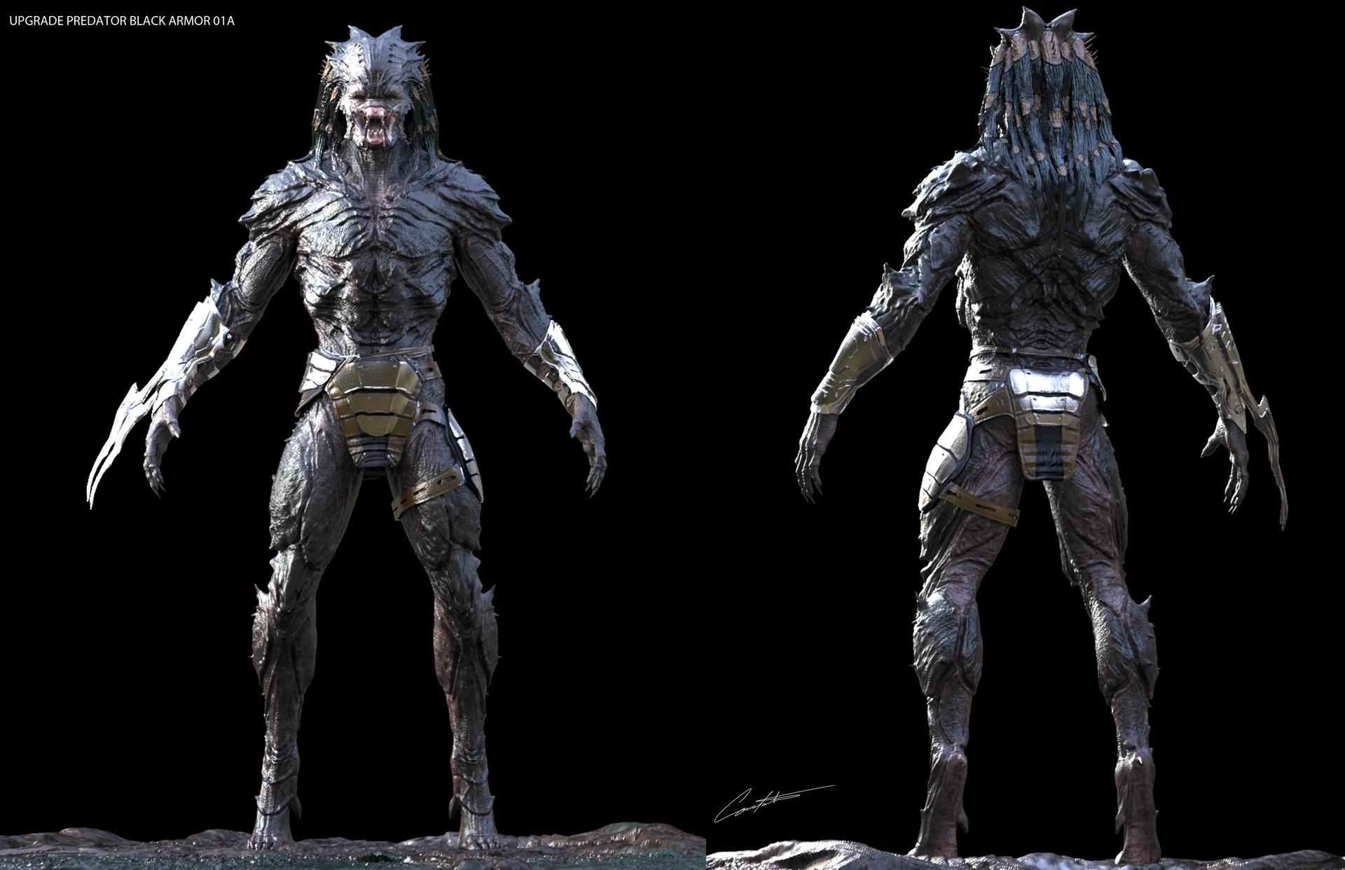 Artstation Predator Evolved Protective Skin Armor Constantine