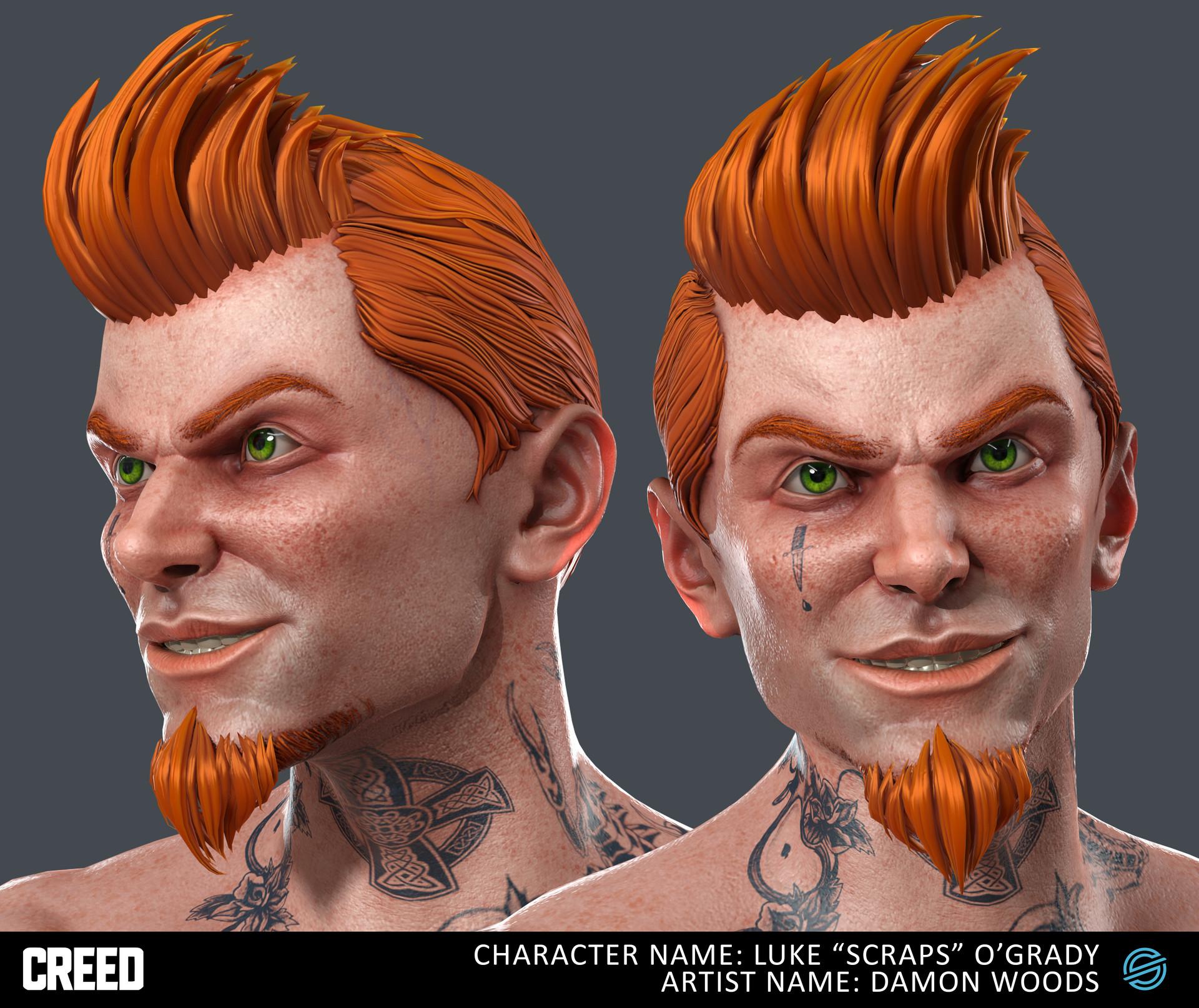 Damon woods oconnor charactersheet hex