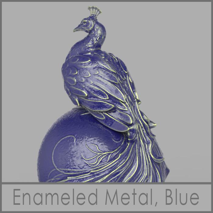 Nacho riesco gostanza enameledmetal bluee