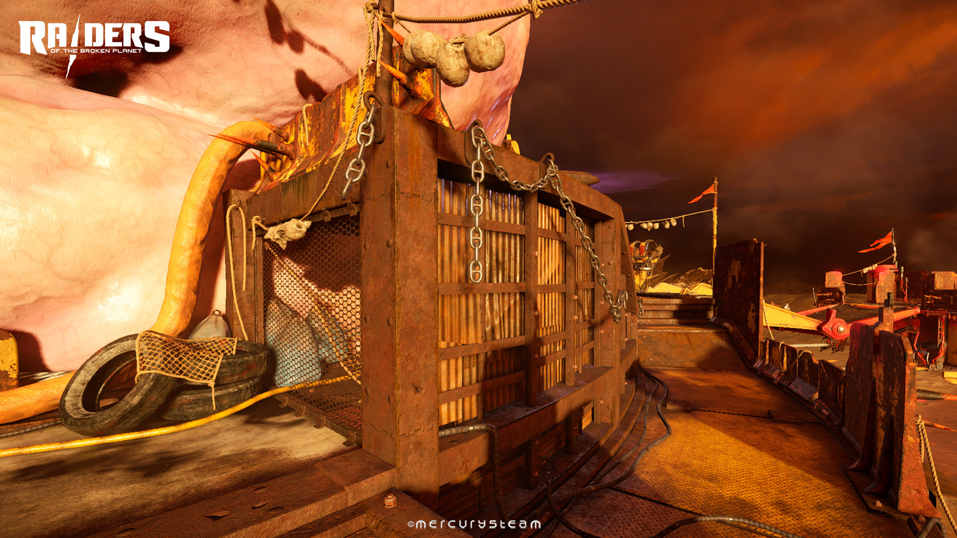 """Gameplay area of the first """"Wardog Fatty"""" - No Reservations mission"""