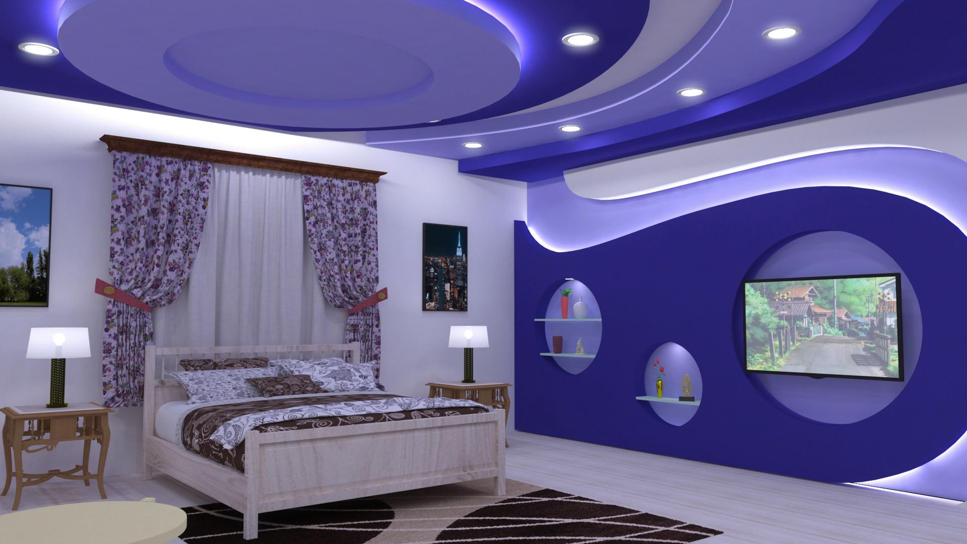 Artstation Bedroom Design In 3dsmax V Ray Syed Sufiyan