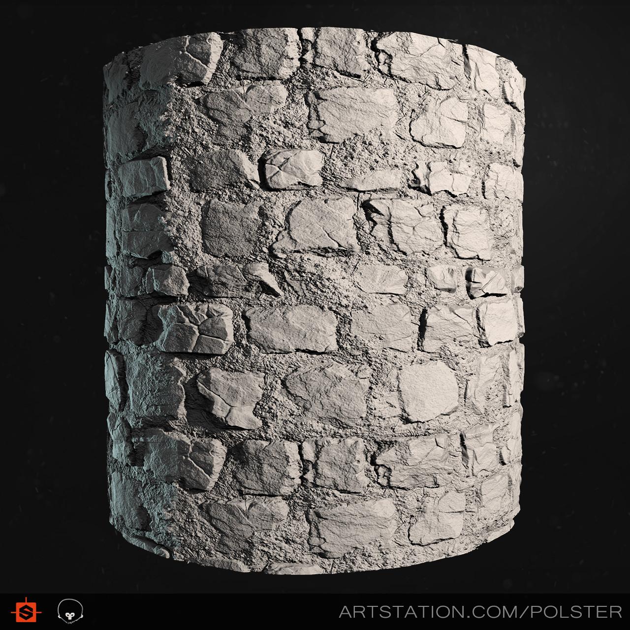 Stefan polster rough cobblestone cyl