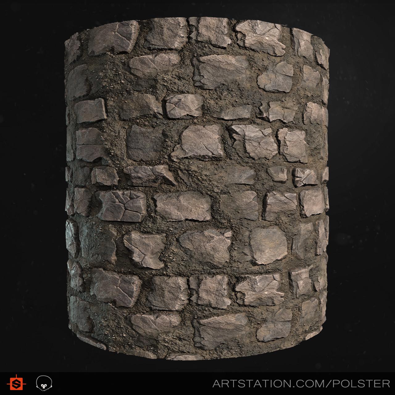 Stefan polster rough cobblestone cyl c
