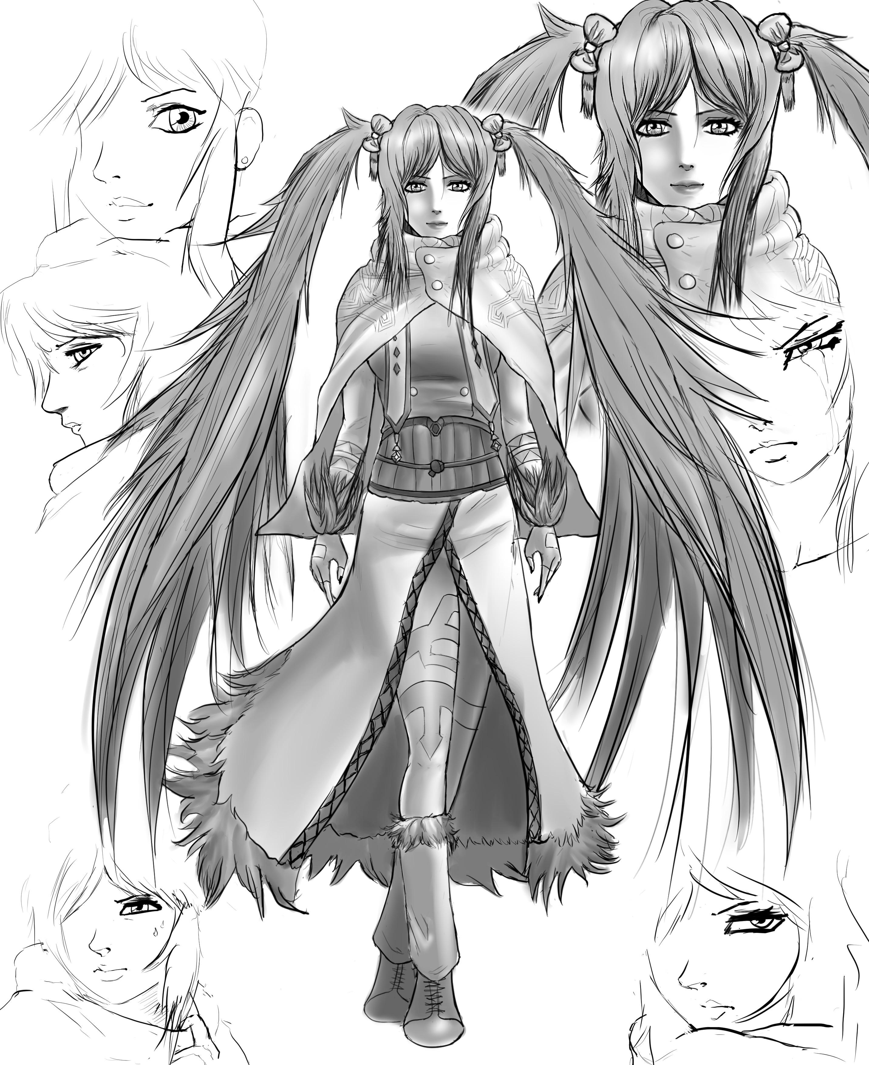 Teen Tempest - Concept Art #1