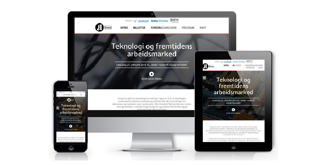 Aftenpostens Teknologi og fremtidens arbeidsmarked 2016