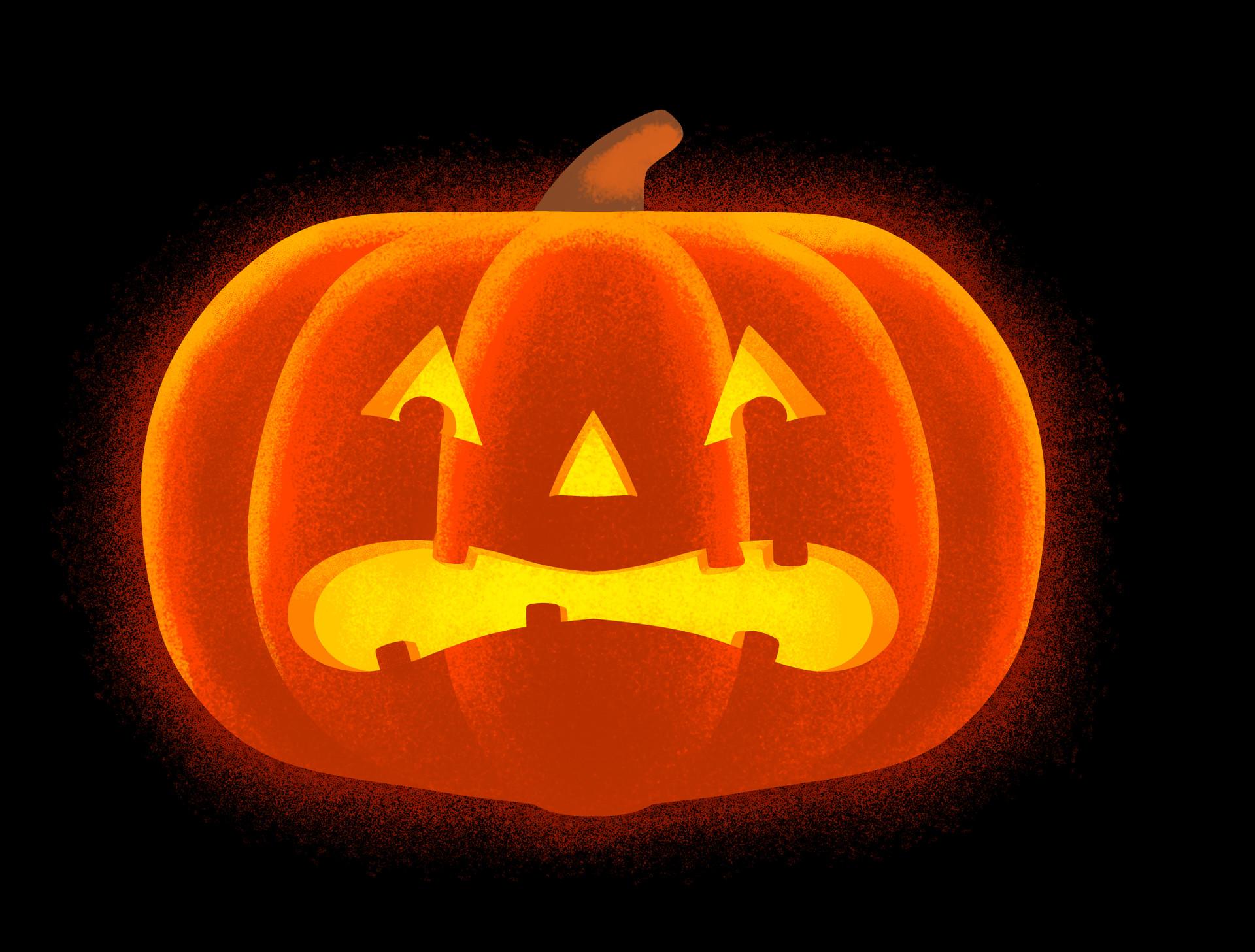 Tom martin halloween 3 pumpkin 1