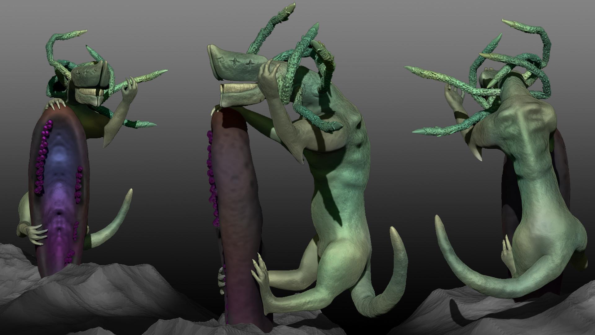 Destiny 2 - Riven Of  A Thousand Voices 3D sculpt