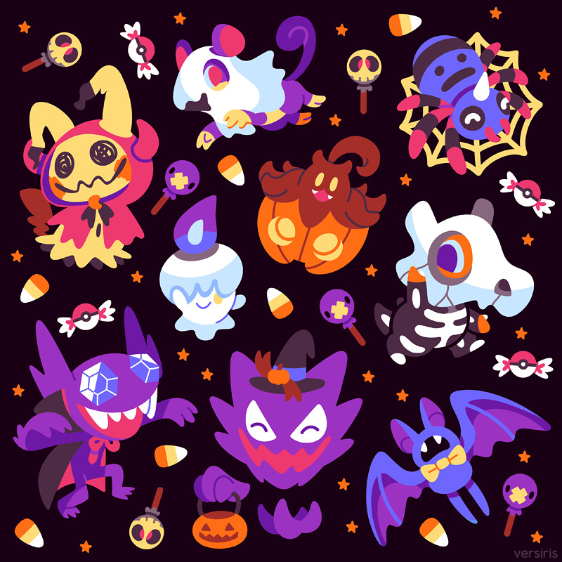 Trick-or-Treat Poke'ween