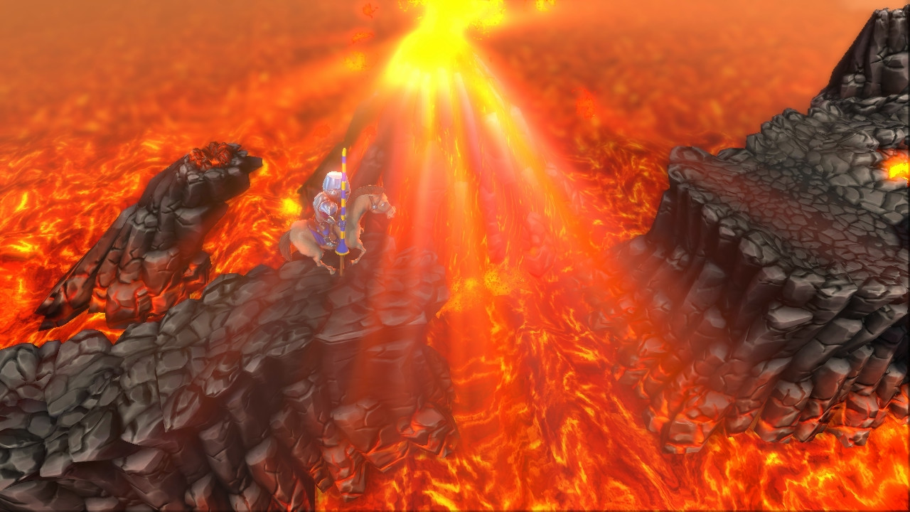 The Volcano theme