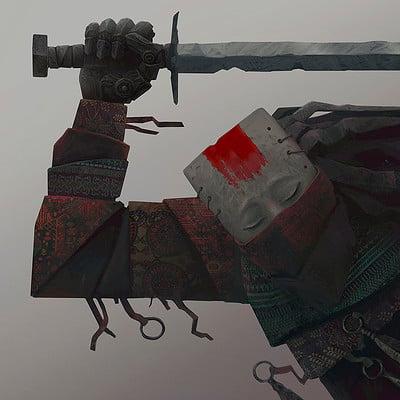 Alexey egorov pensive warrior
