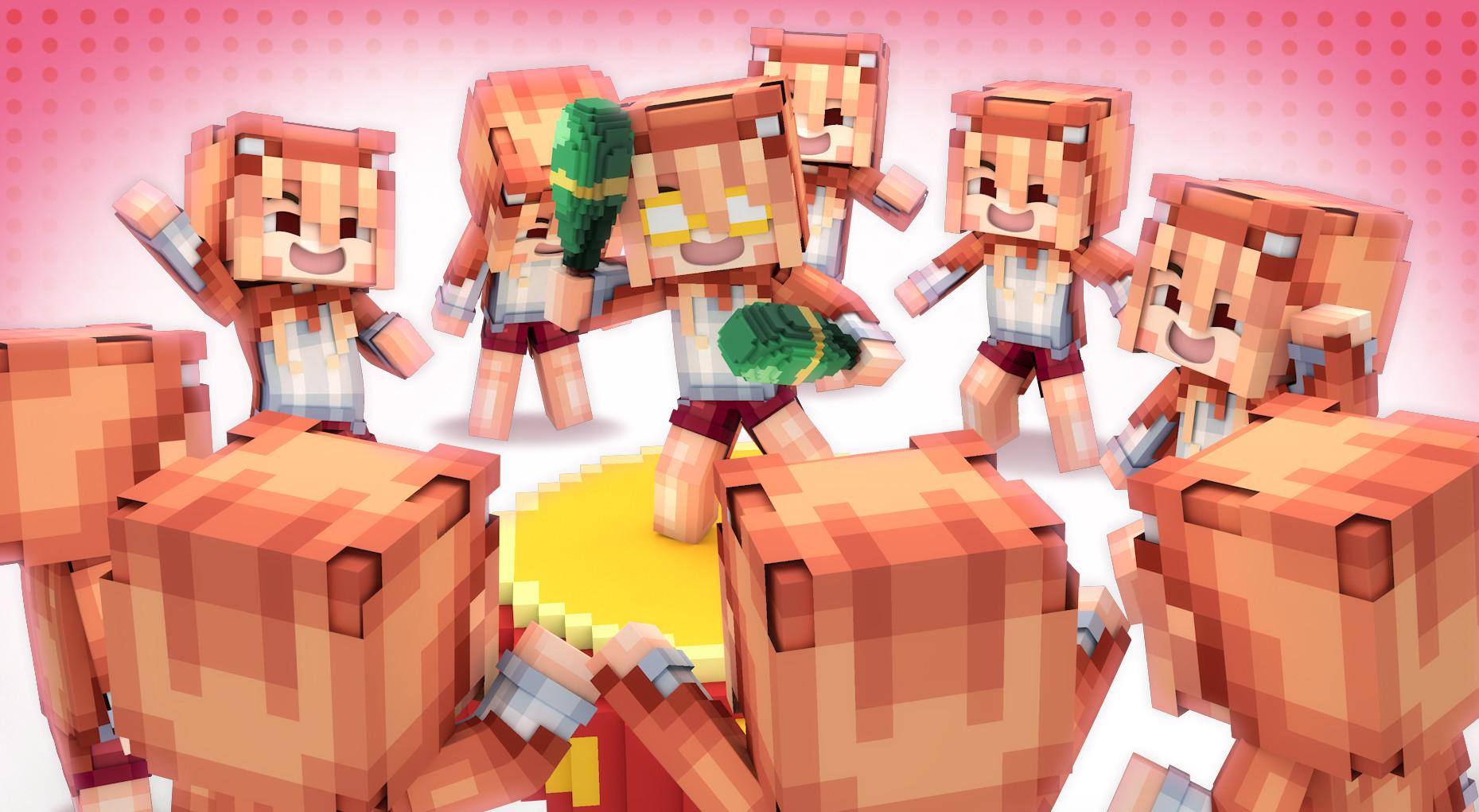 Supawit Oat Minecraft Wallpaper Himouto Umaru Chan