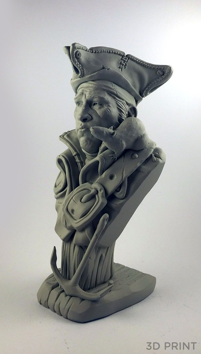 Physical 3D Print