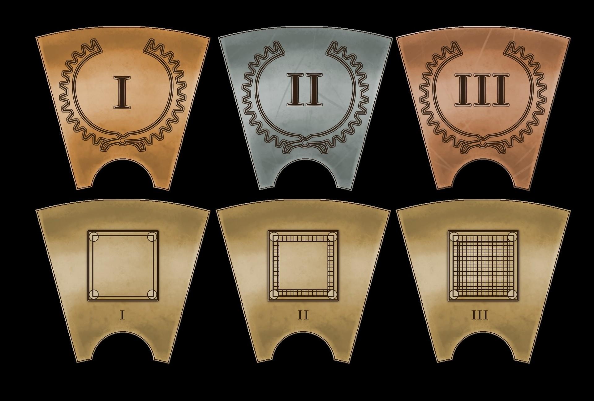 Victor debatisse 11 calendar tiles