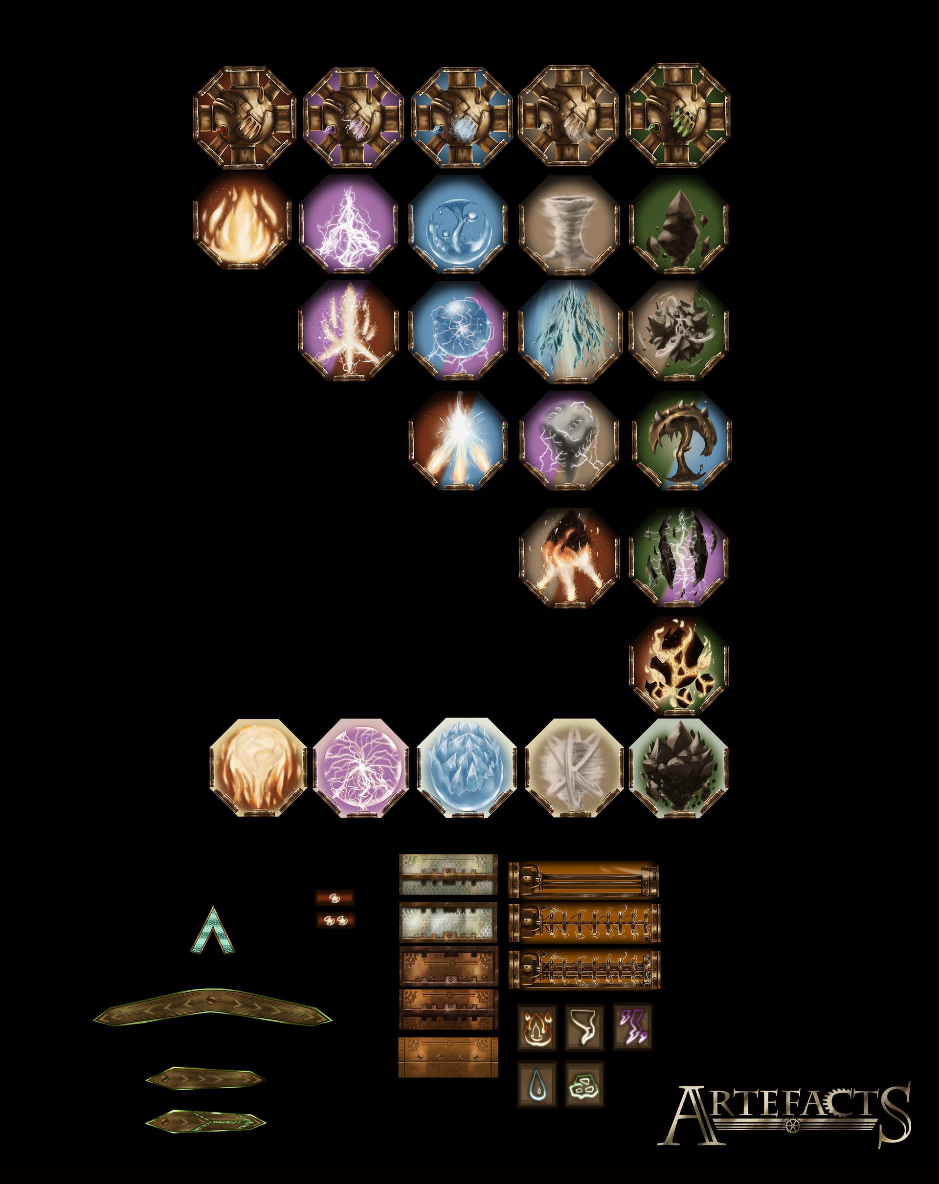 Victor debatisse 04 elements tiles