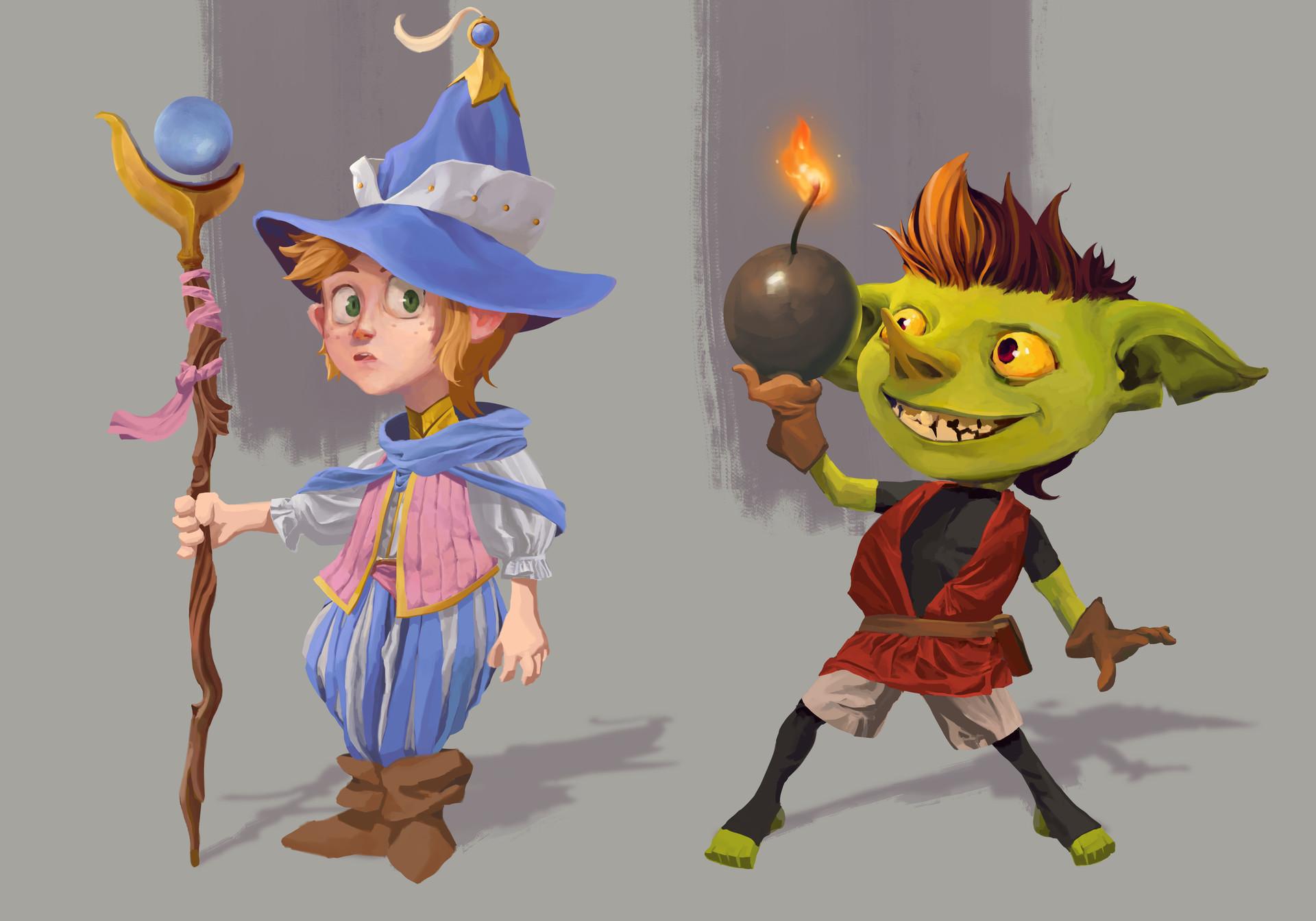 Michael edward smith 05 witchgoblin