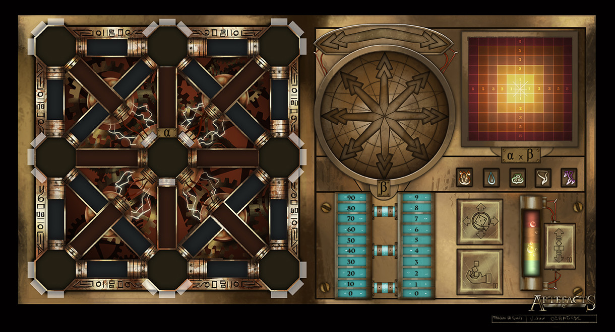 Victor debatisse 01 control panel