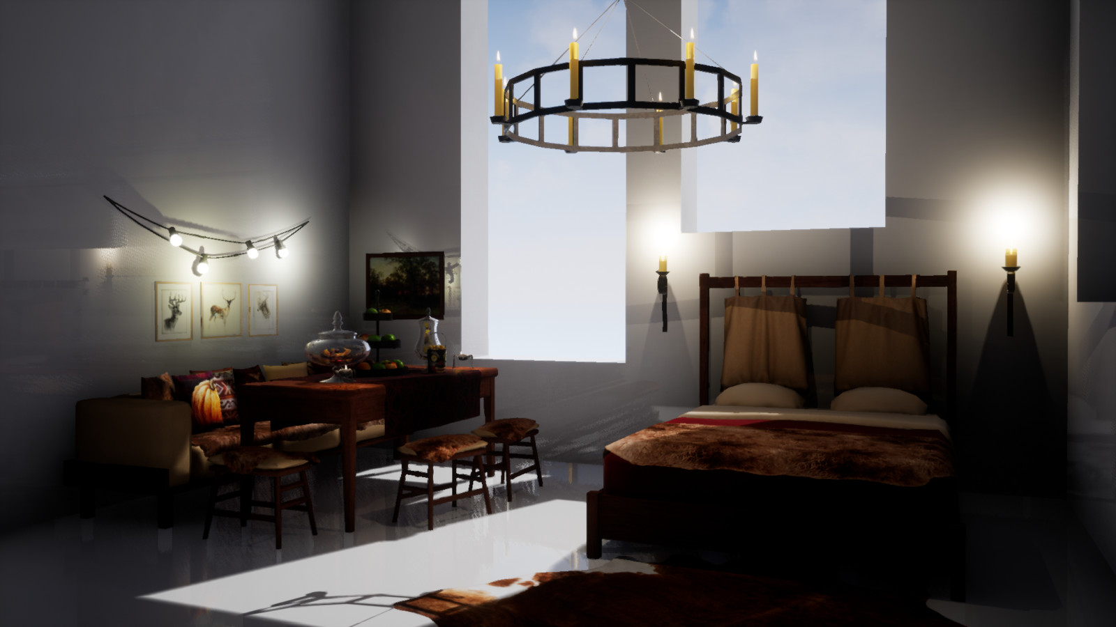 Unreal Engine 4. Main picture