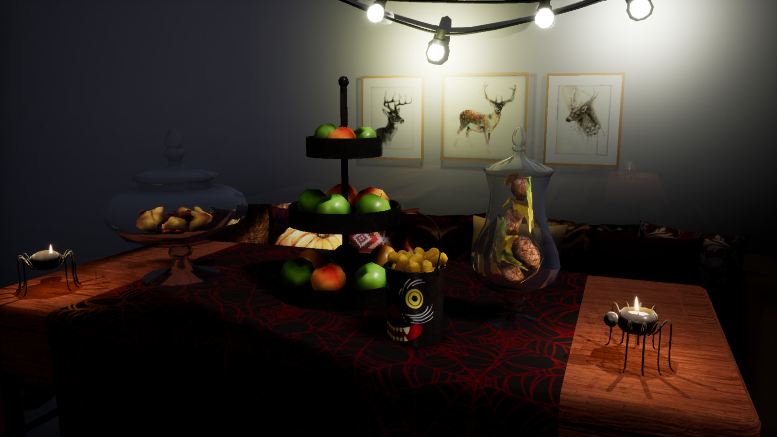 Unreal Engine 4. Tableware