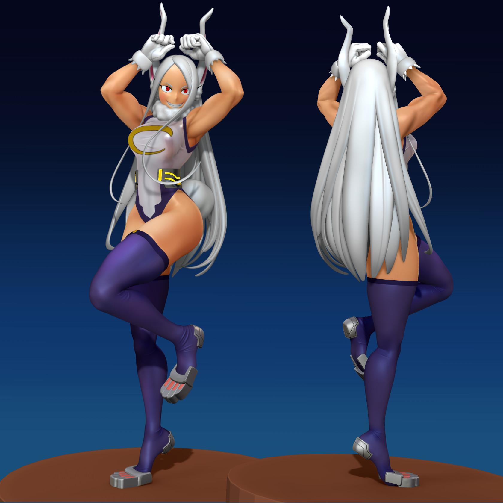 Usuke Ninja Rabbit Hero Miruko Bnha