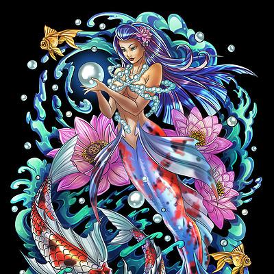 Amelie belcher geishamermaidcolor72