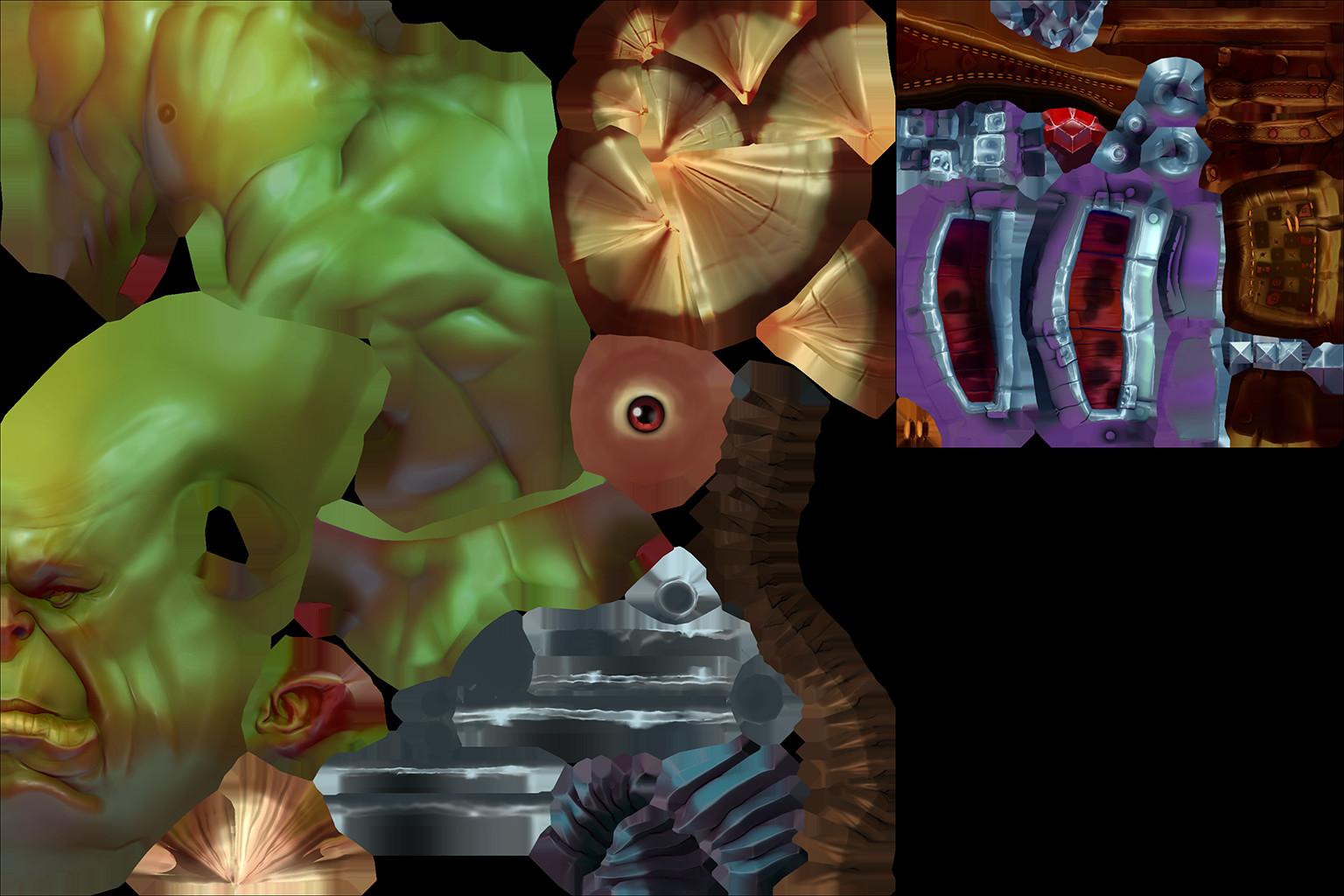 Dillon hetrick orc render textures