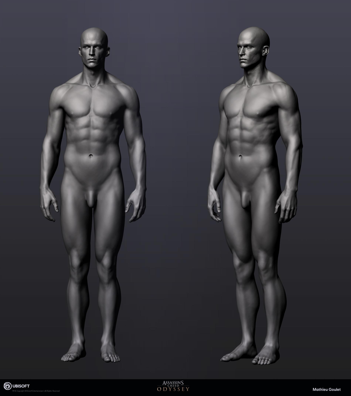 Mathieu goulet alexios body zbrush