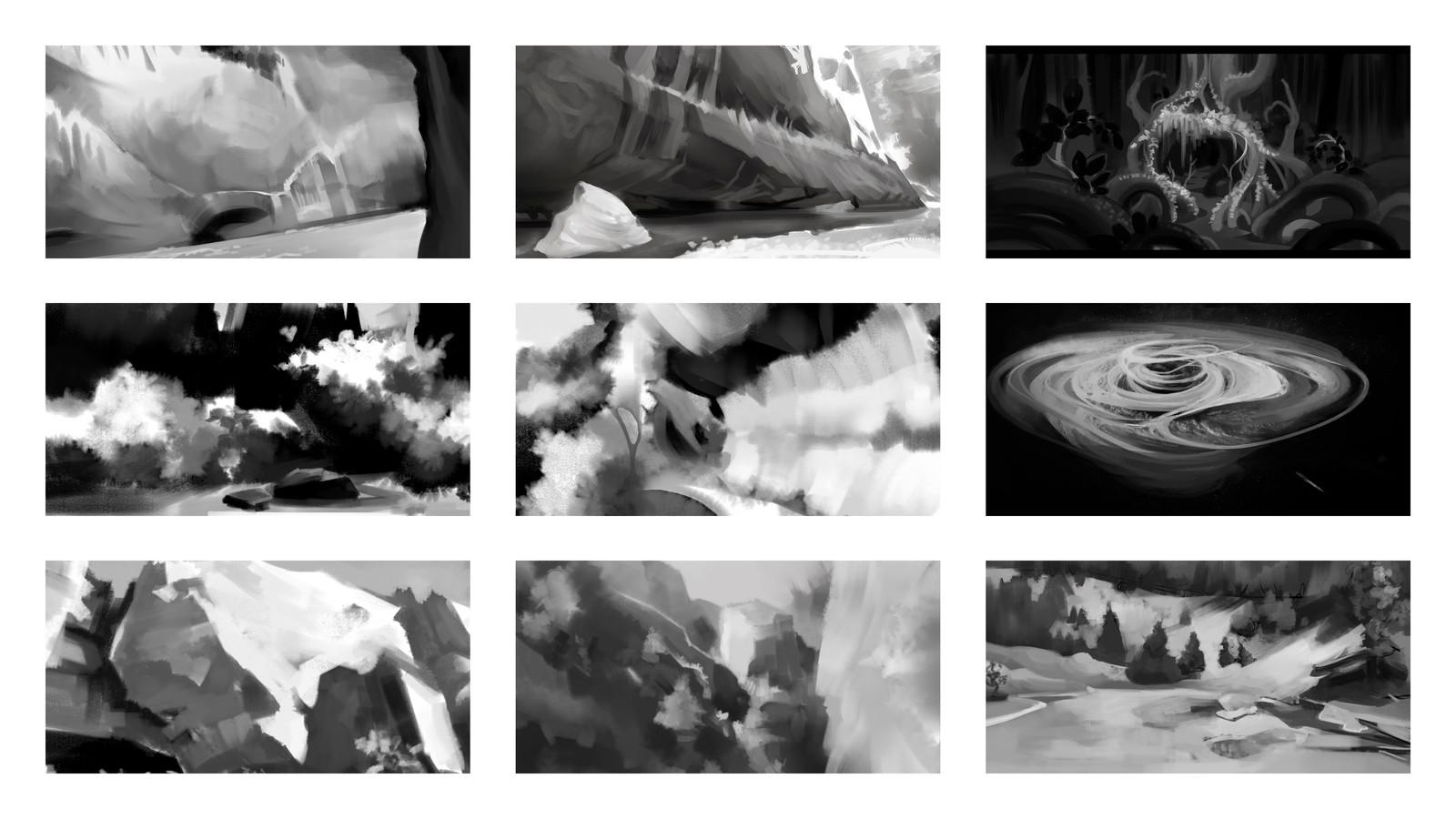 Sketchbook: Environments