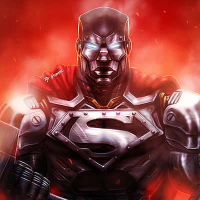 Steel - DC Comics -  Reign of The Supermen