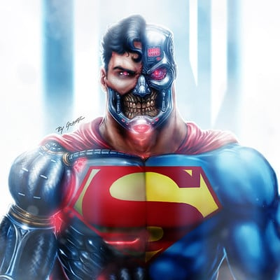 Cyborg Superman - DC Comics - Reign of The Supermen