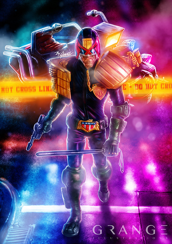 Judge Dredd & Lawmaster