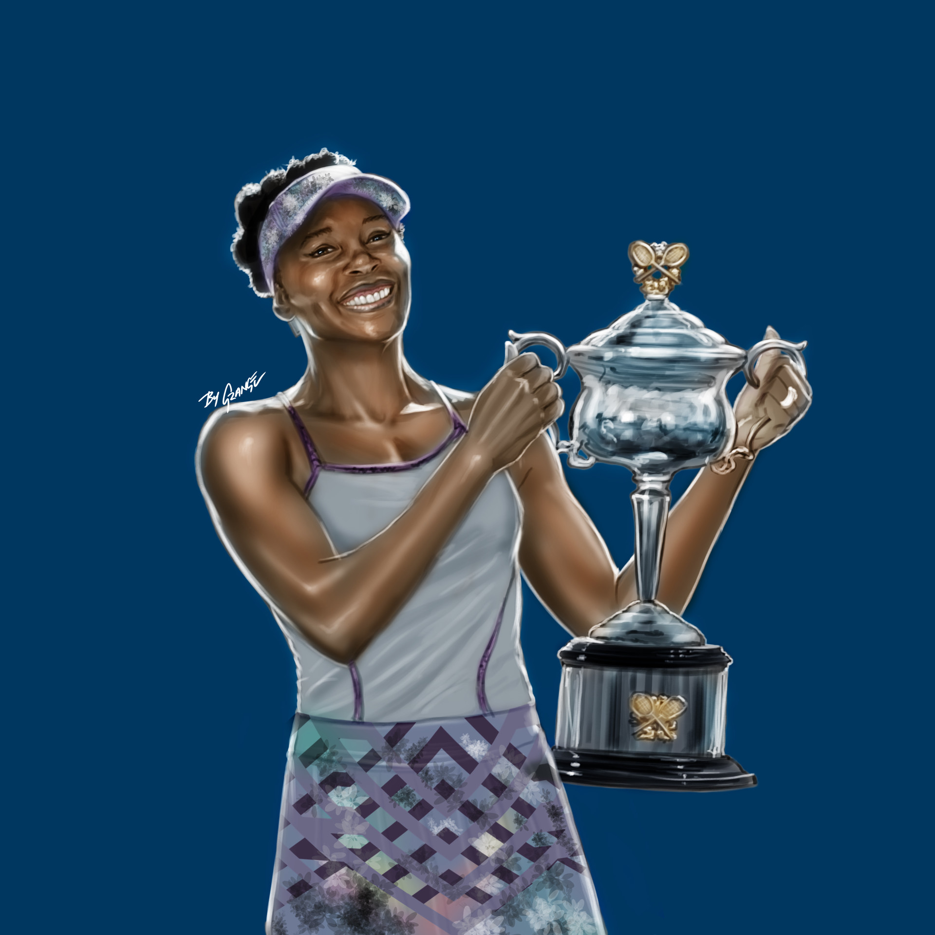 Grange wallis venus williams winner