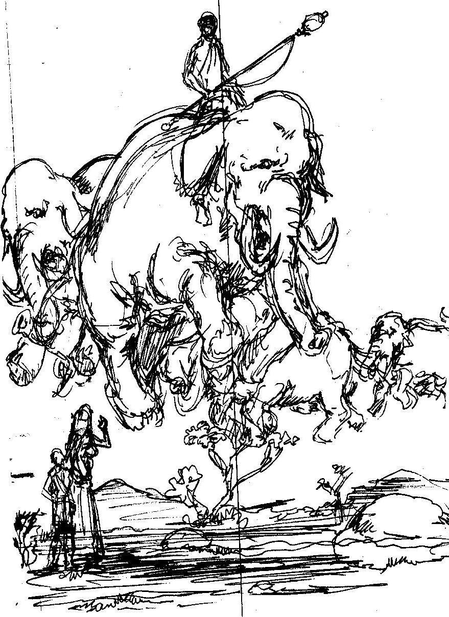 Vincent bryant inktober 14 sketch