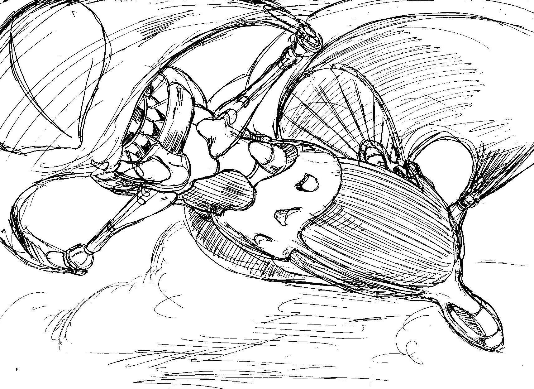Vincent bryant inktober 15 sketch
