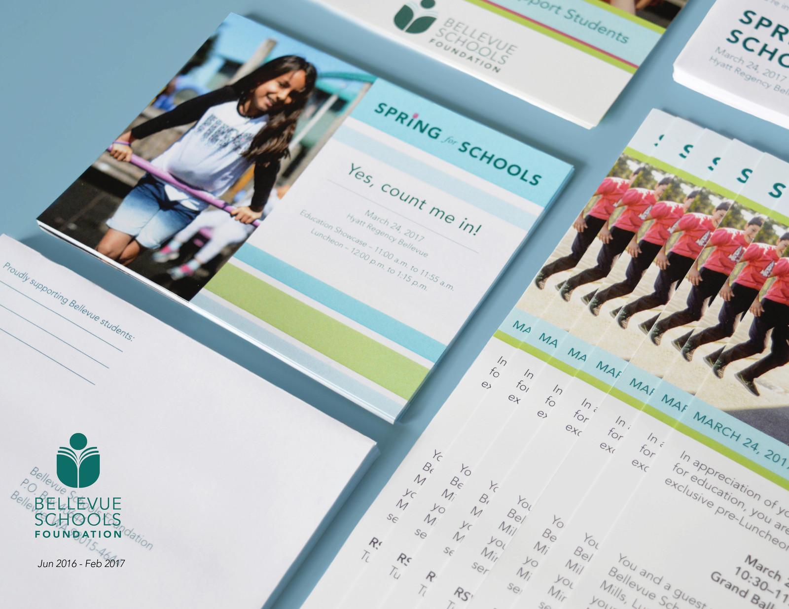 Spring for Schools Event Branding