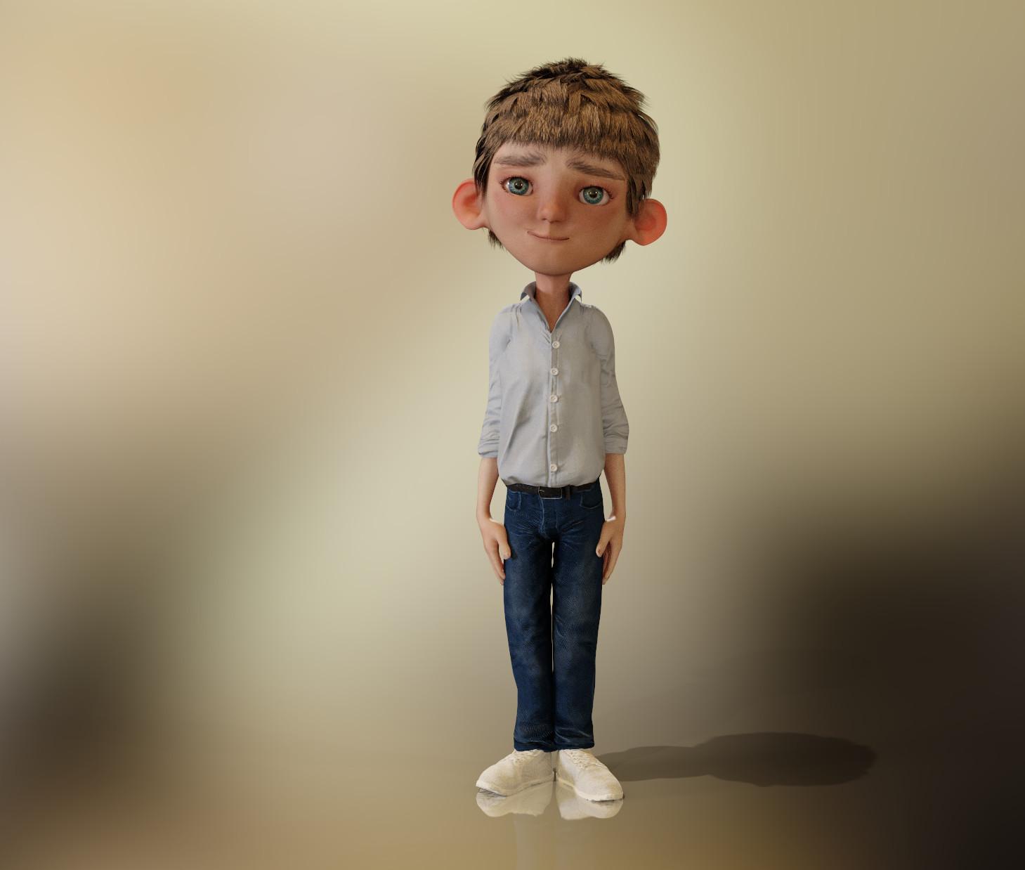 CC3 Linus Morph
