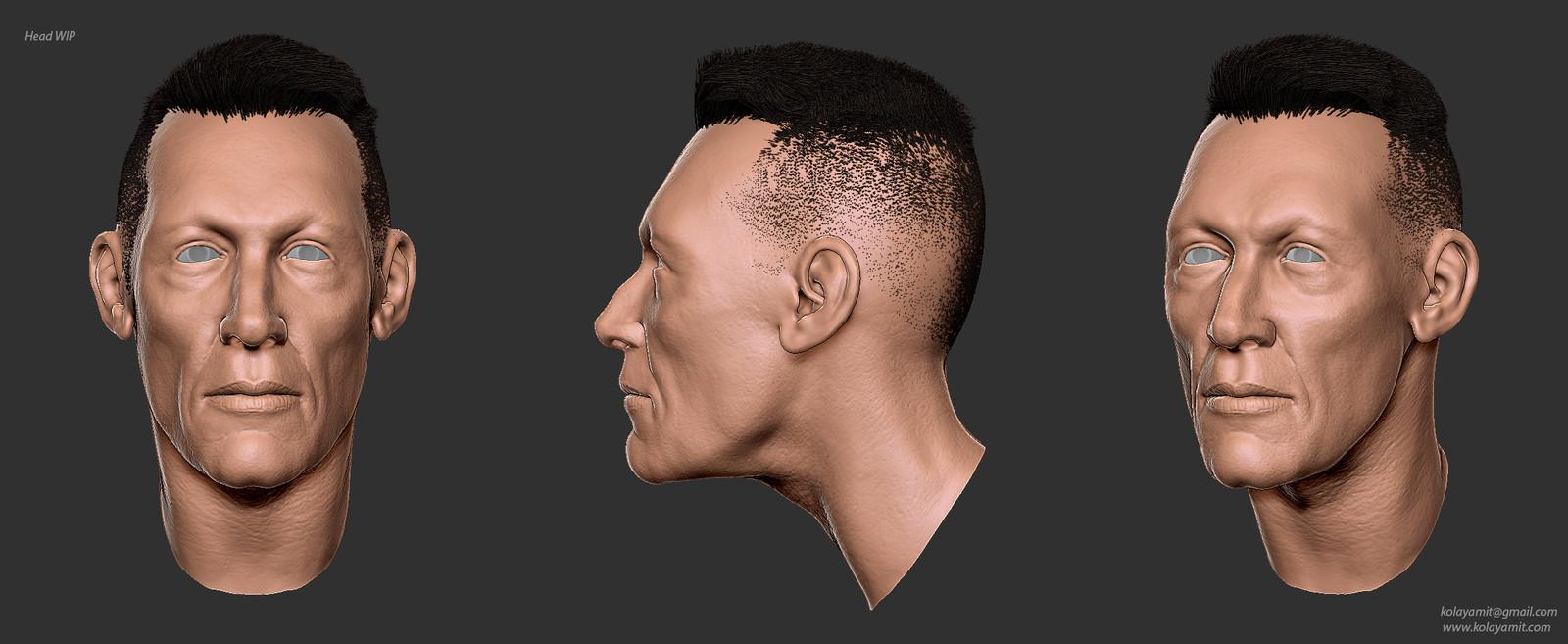 Head WIP