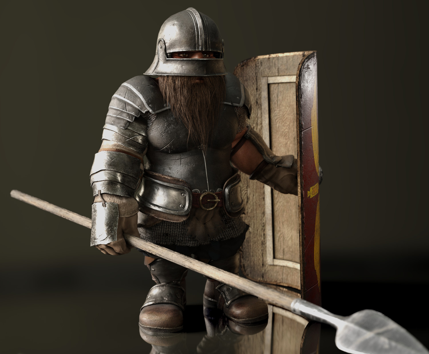 Dwarf Foot Soldier