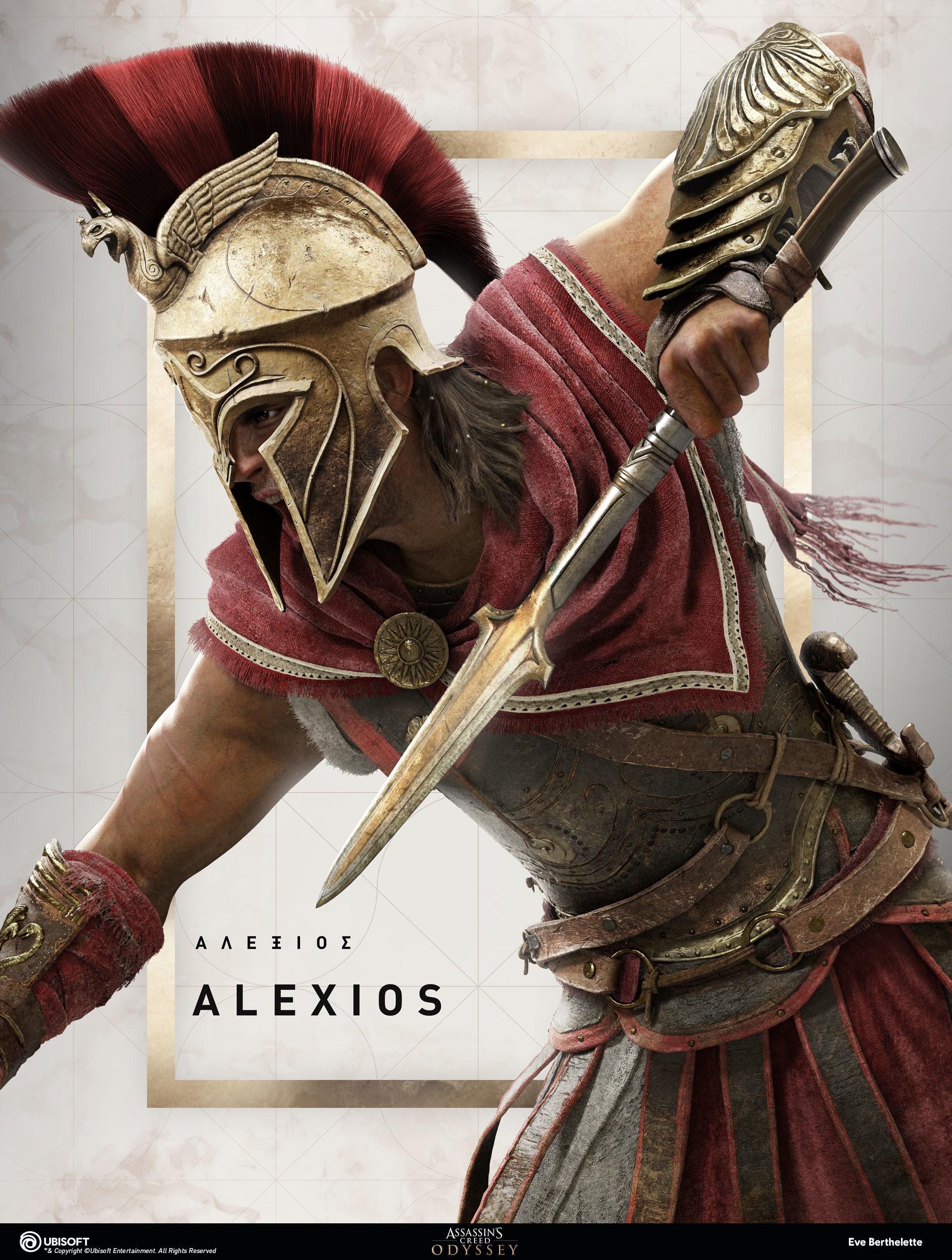 Artstation Assassin S Creed Odyssey Portrait Alexios Action
