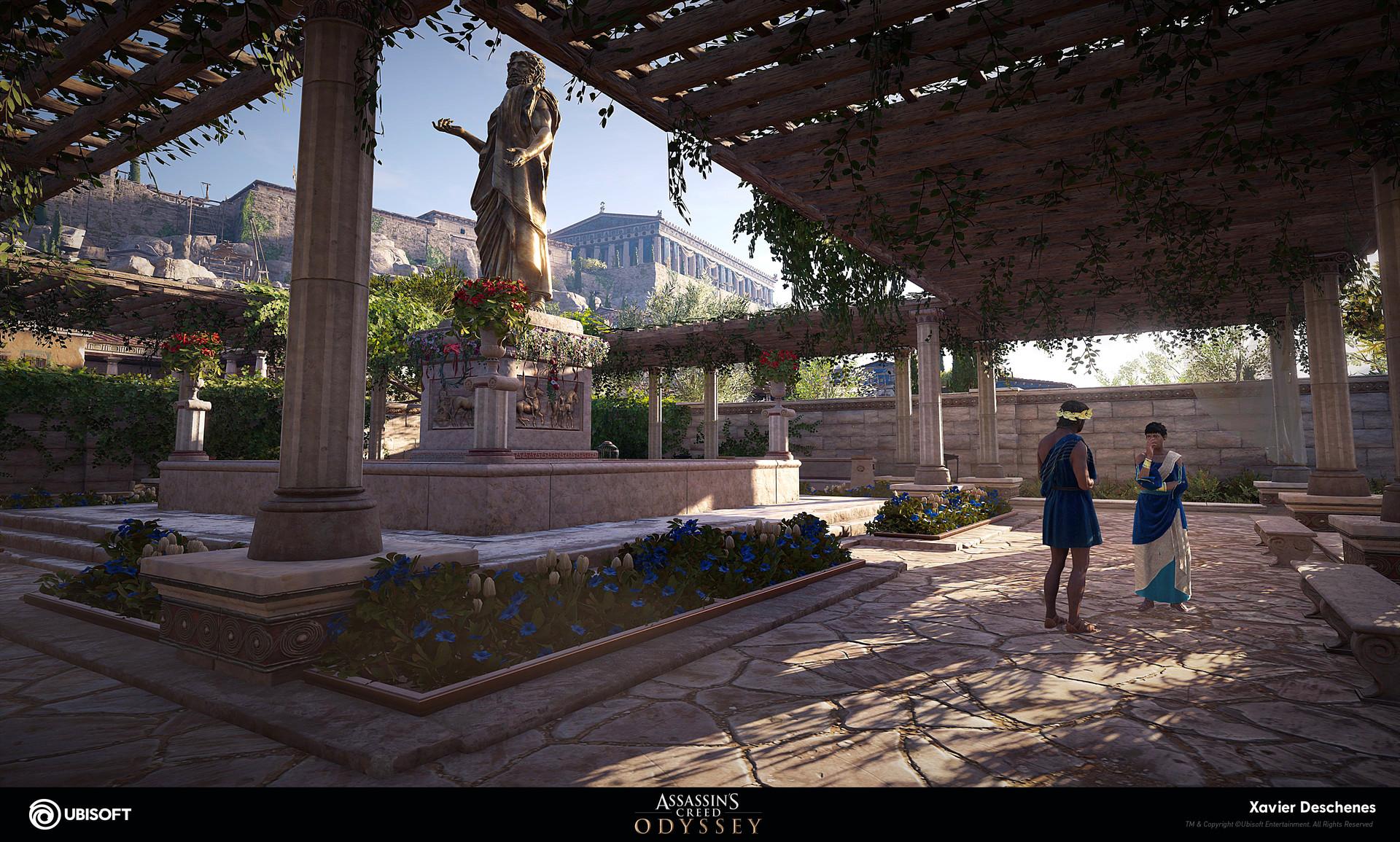 Artstation Assassin S Creed Odyssey Xavier Deschenes