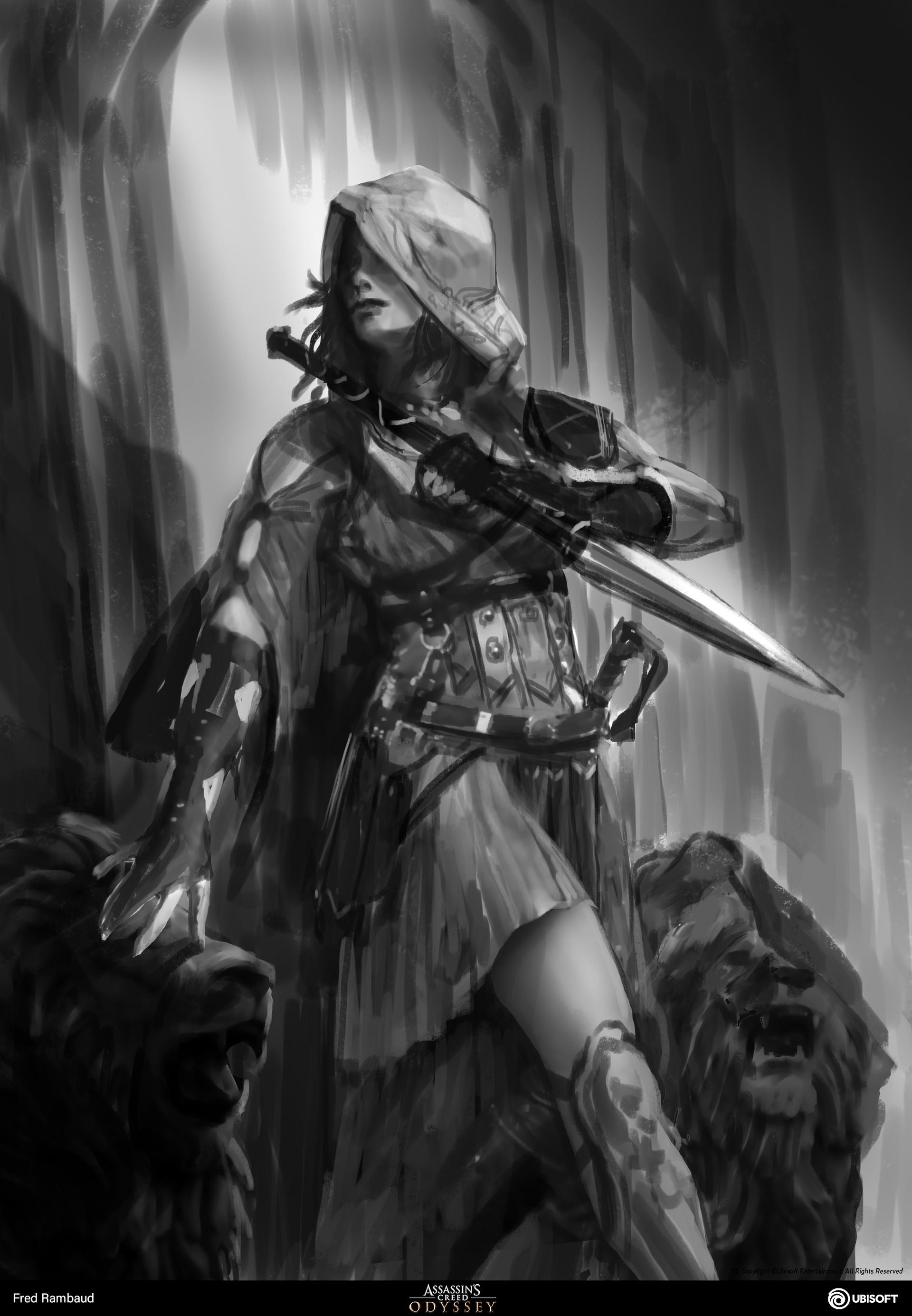 Artstation Kassandra Assassin S Creed Odyssey Illustrations