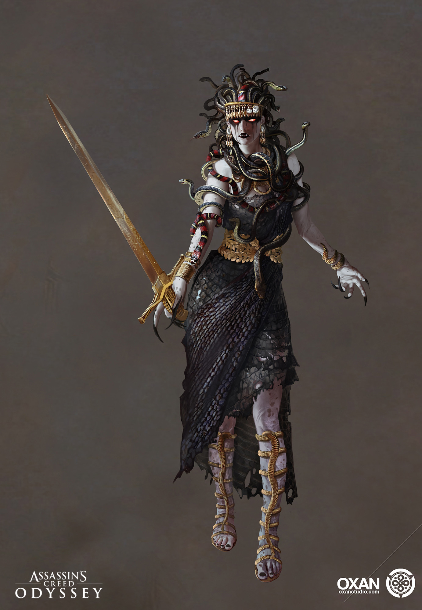 Artstation Assassin S Creed Odyssey Lian Li