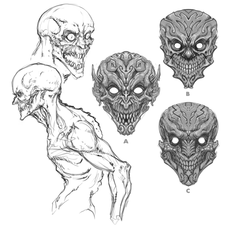 Head Style Symmetry Studies