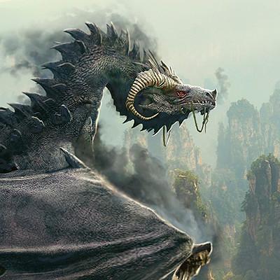 Pablo olivera dragones wacom zbrush color