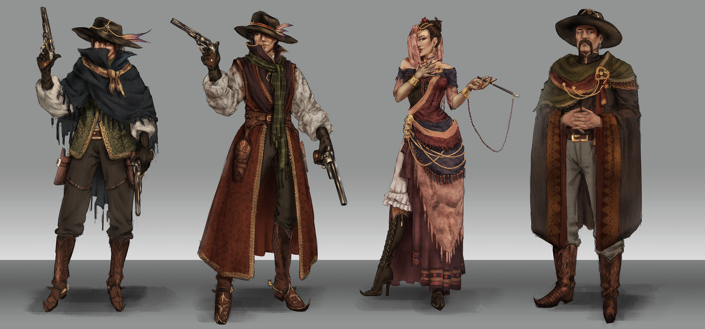 WIP concept of character concepts. 