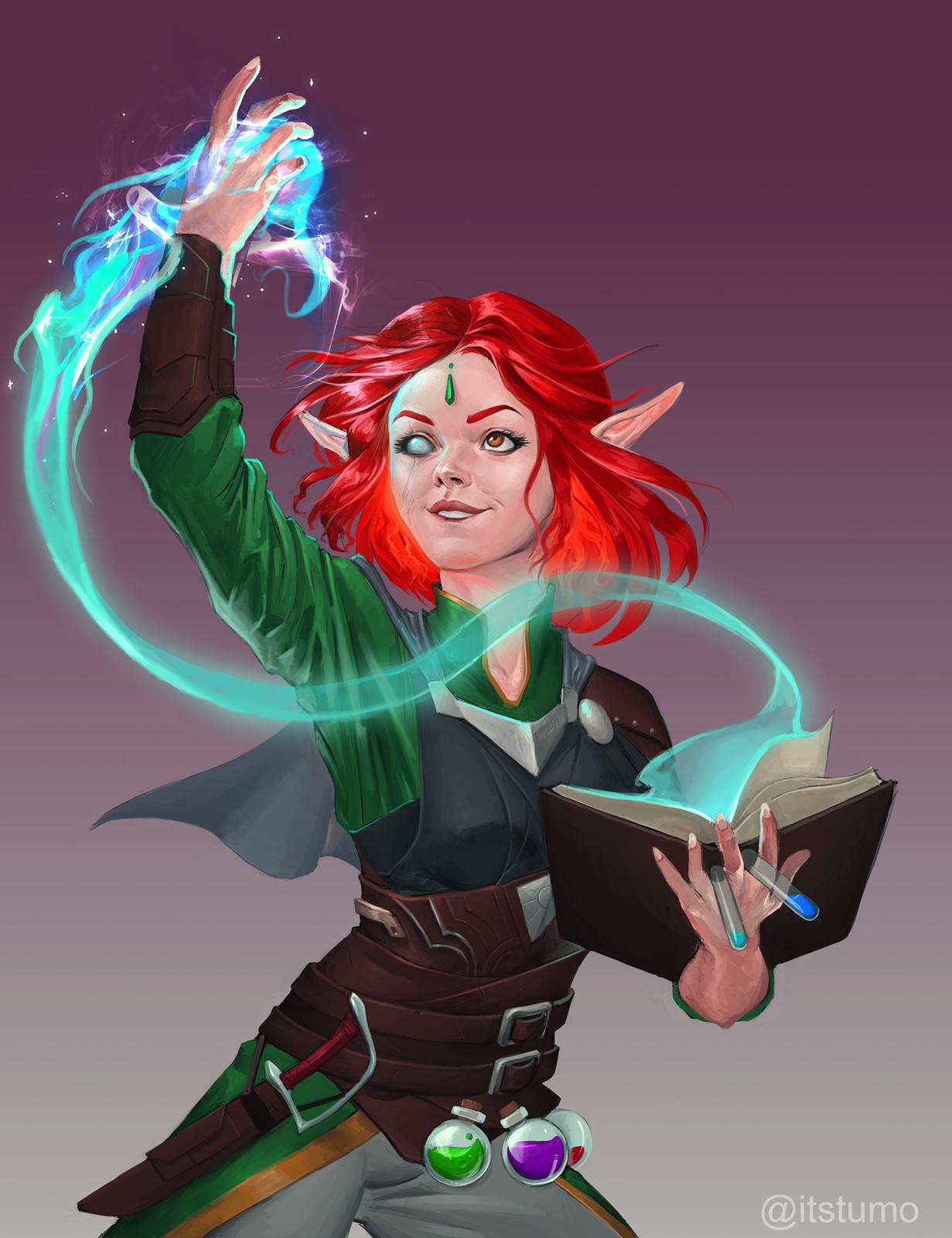 Elf Alchemist