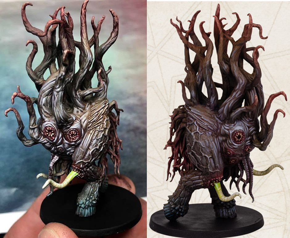 Michael jenkins dark spawn painted 2