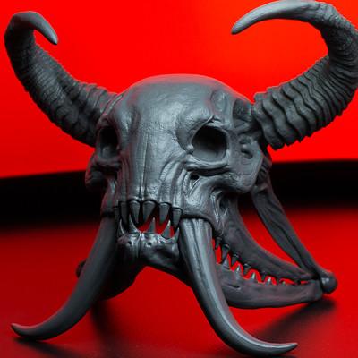 Andrew martin wendigo skull